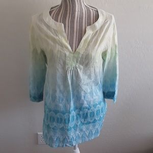 Chico's Ombre Top